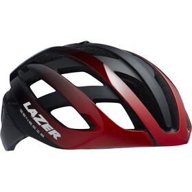 Lazer Genesis Casco, red black
